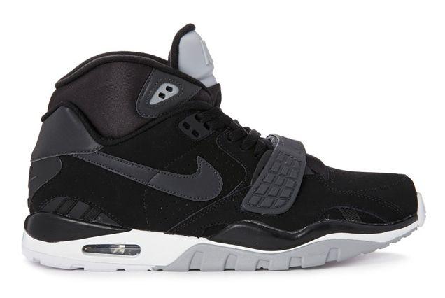Nike Air Trainer Sc Ii Black White Grey 4