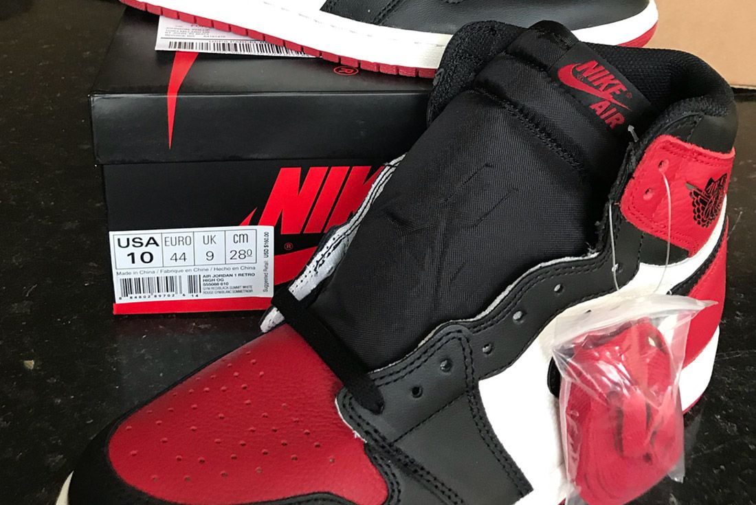 Air Jordan 1 Bred Toe Mix Up Nike Sneaker Freaker 2