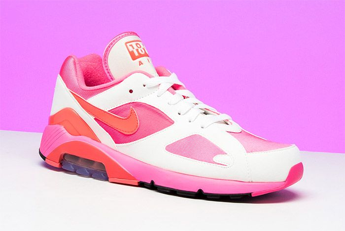 Comme Des Garcons Nike Air 180 Pink 10
