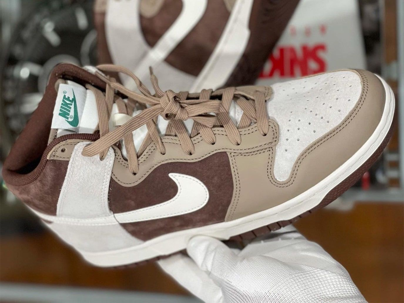 In-Hand: The Nike Dunk High 'Light Chocolate'