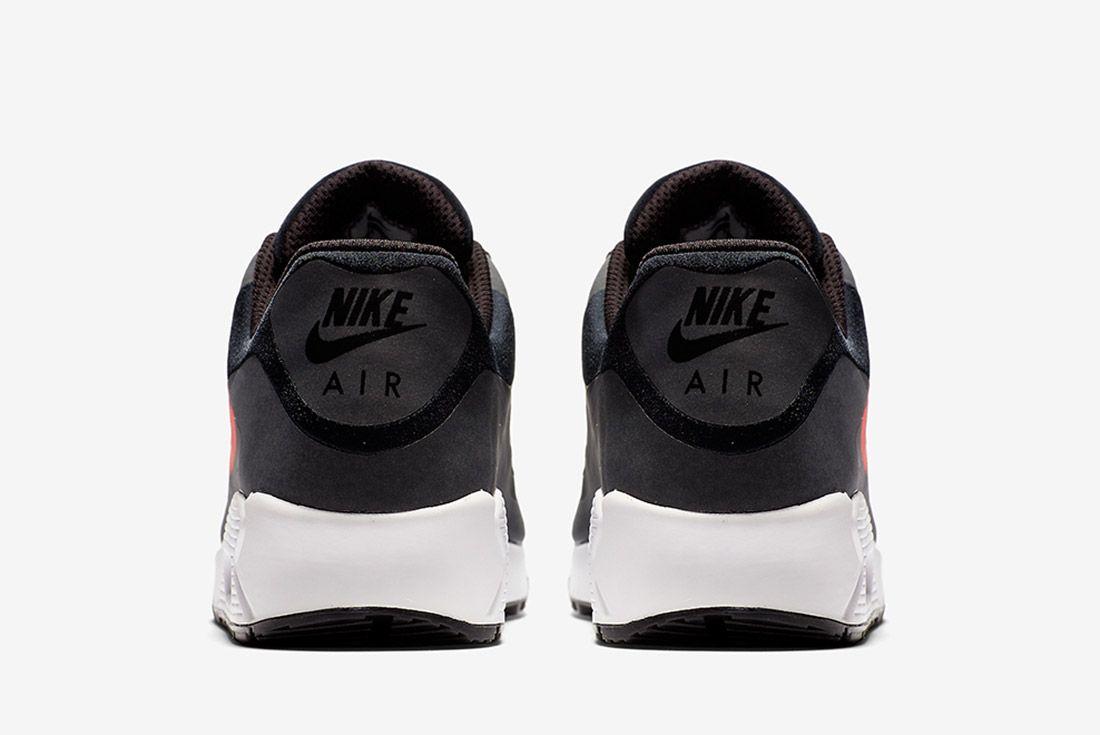 Nike Air Max 90 Big Logo Infrared Black Sneaker Freaker 3