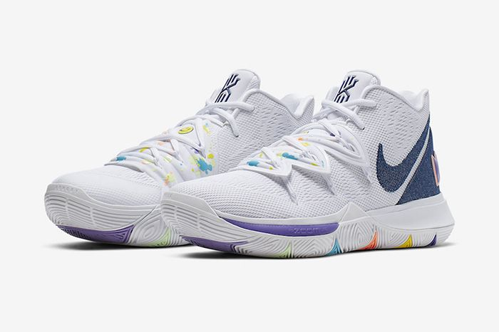 Nike Kyrie 5 Have A Nike Day Ao2919 101 Release Date Pair