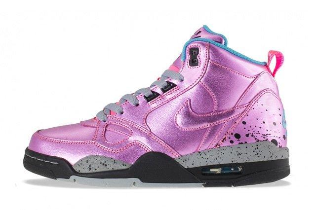 Nike Wmns Flight Mid 13 Pink Glow 2