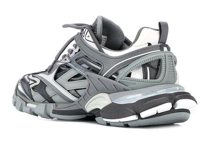 Balanciaga Track Grey Heel Three Quarter