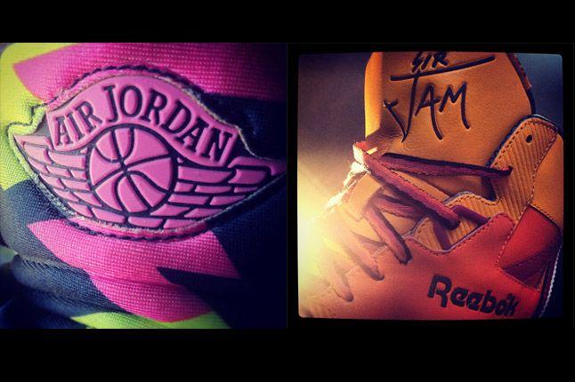 Nike Jordan Reebok Sir Jam 1