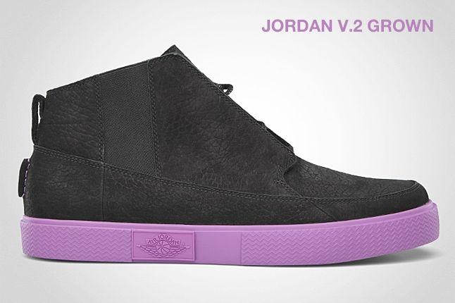 Jordan V 2 Grown Violet 1