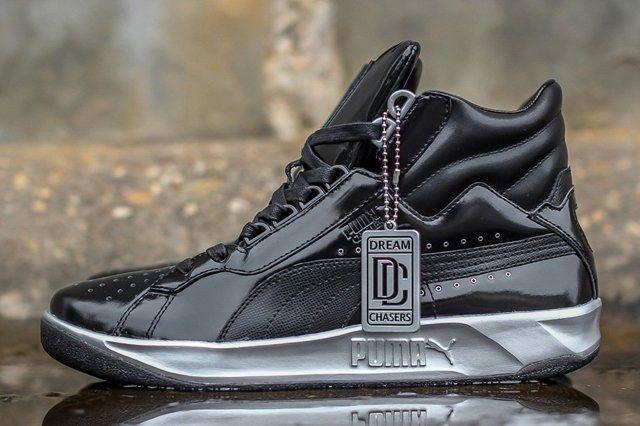 Meek Mill X Puma Challenge Black Silver