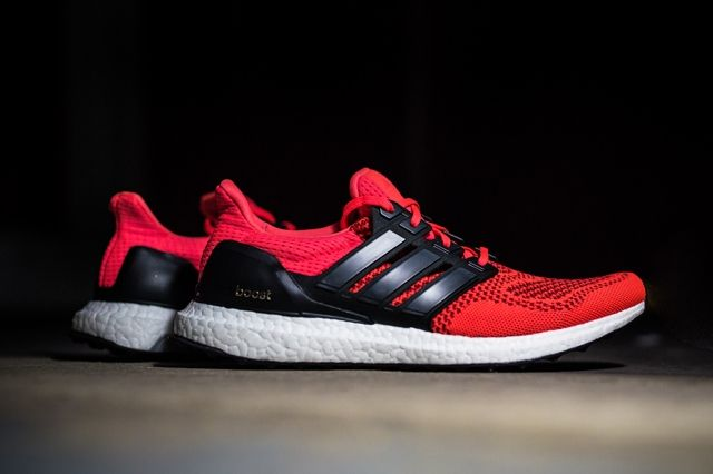 Adidas Ultra Boost Solar Red 2