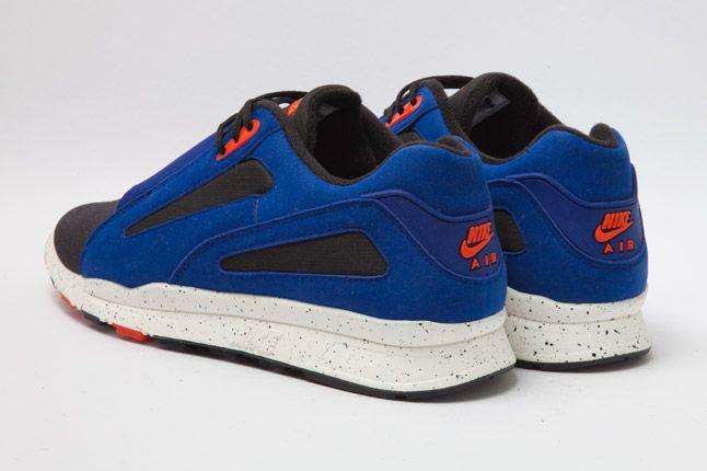 Nike Air Current 2012 Blue Orange Heel 1