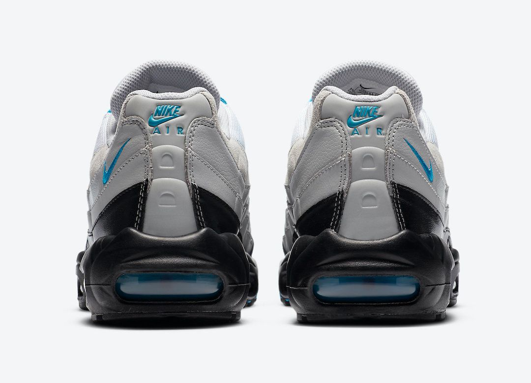 Nike Air Max 95 Laser Blue Heel