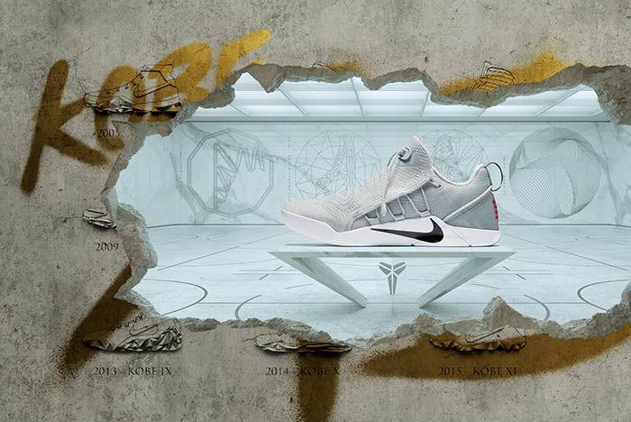 Nike Kobe A D  Nxt Wolf Grey5