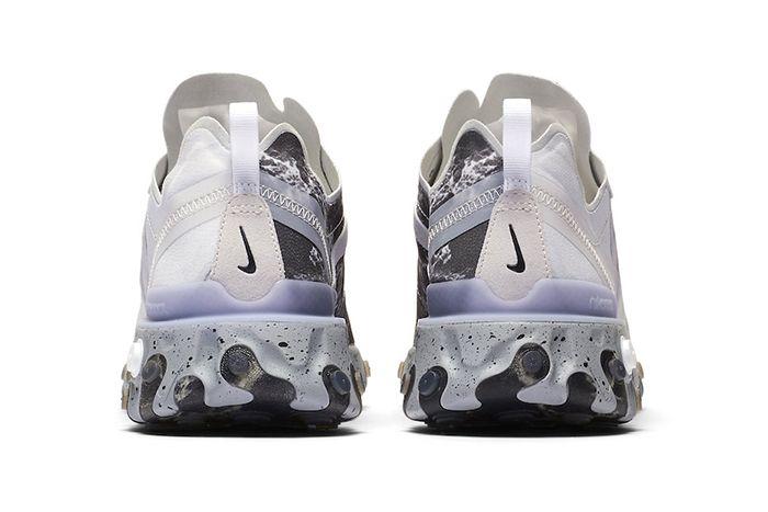 Kendrick Lamar Nike React Element 55 Cj3312 001 Release Date Heel