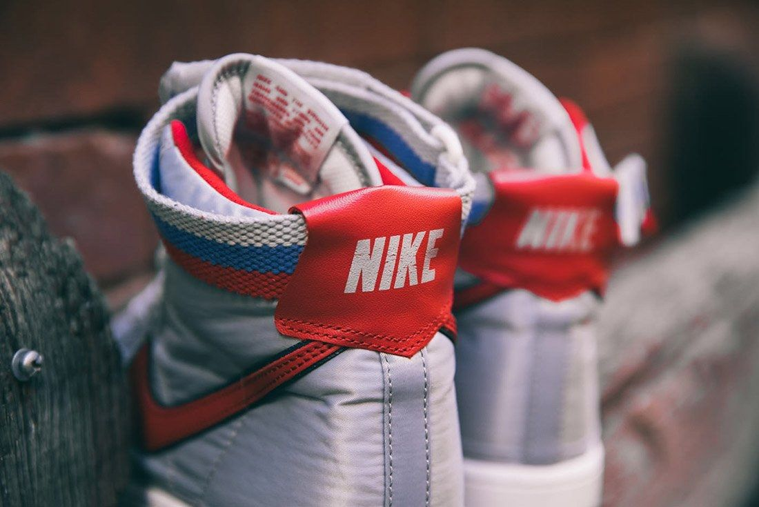 Nike Vandal High Supreme Qs Metallic Silver 2