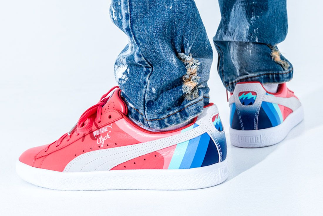 Pink Dolphin X Puma Clyde Pack Sneaker Freaker 7
