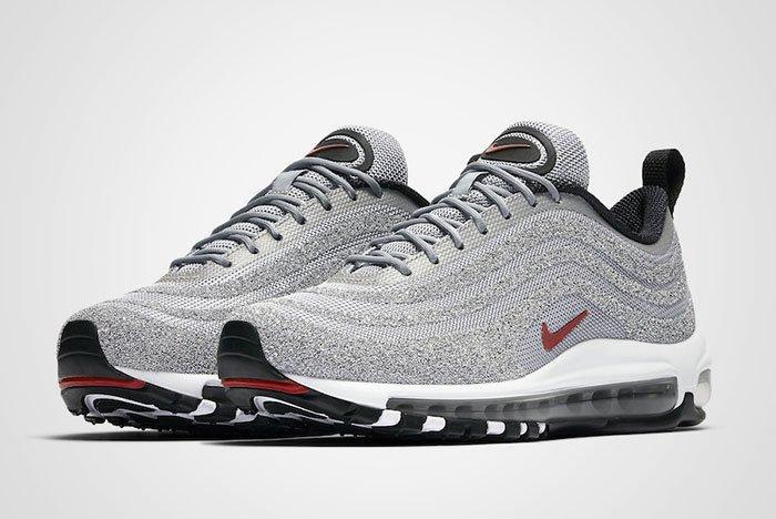 Nike Air Max 97 Silver Bullet Swarovski Crystal Thumb