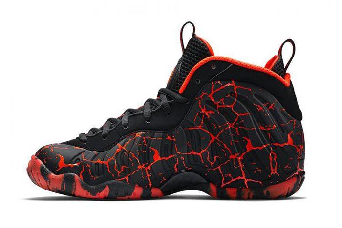 Nike Foamposite Hot Lava 4