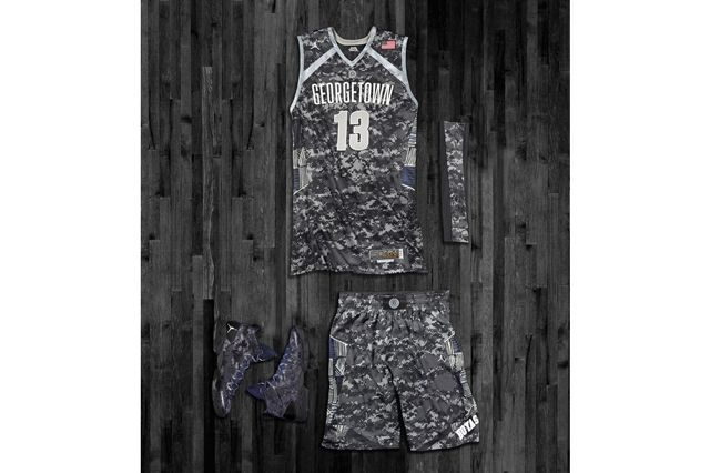 Nike Ducks Hoyas Bball Hoyas Kit