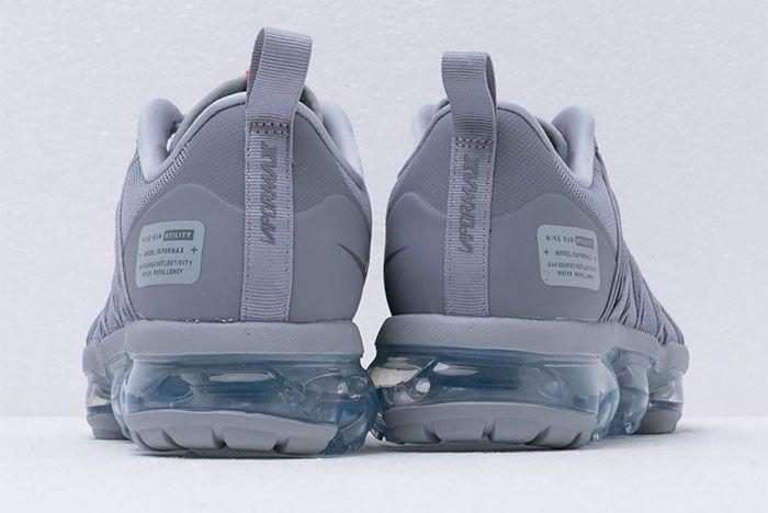 Nike Vapormax Run Utility Wolf Grey 5