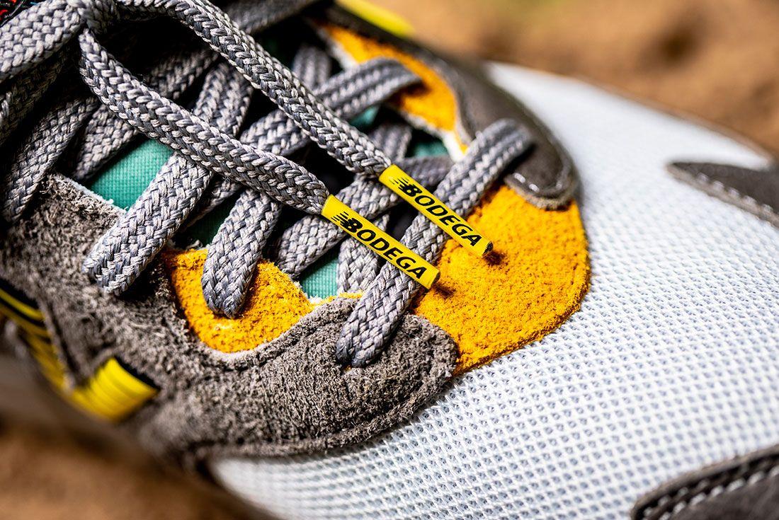 Bodega New Balance No Bad Days Sneaker Freaker7 Up Close
