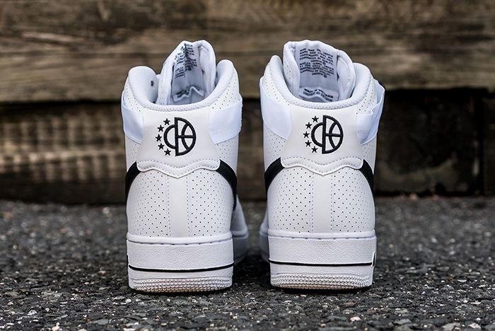 Nike Air Force 1 High Perf White Black 7