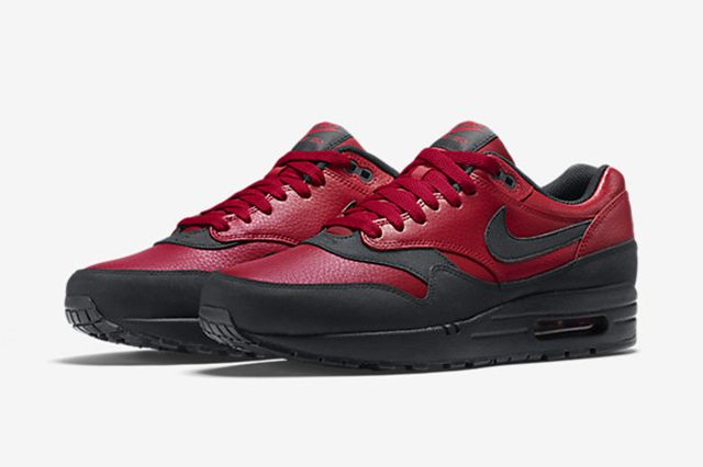 Nike Air Max 1 Leather Gym Red 6