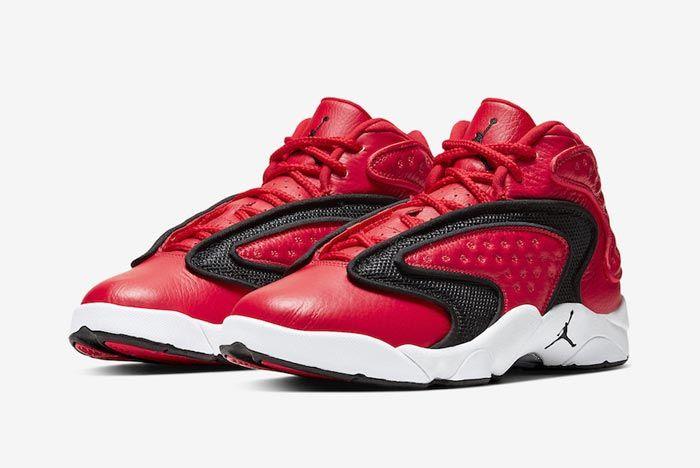 Air Jordan Womens Og Red Black White Pair