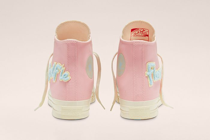 Golf Le Fleur Converse Chuck 70 Chenille Pink Release Date Heel