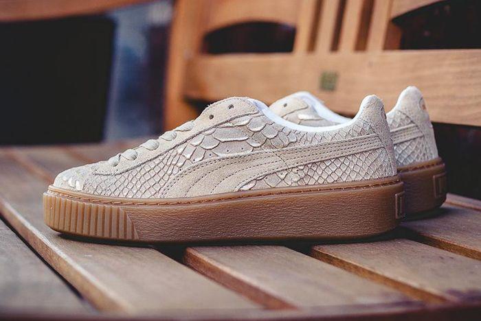 Puma Platform Exotic Skins Natural Vachetta 6