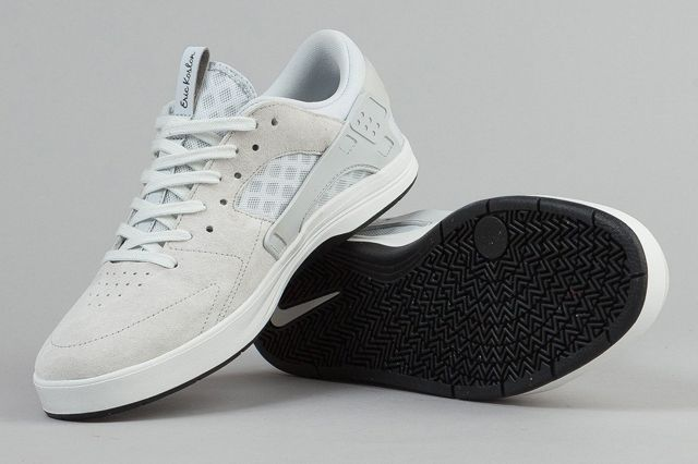 Nike Sb Eric Koston Huarache Shoes Summit White Pure Platinum Black 4