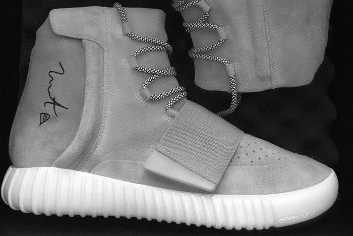 Signed Yeezy 750 Boost