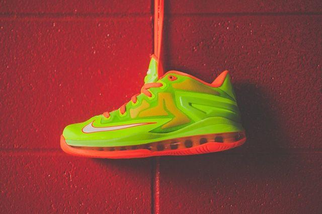 Nike Lebron 11 Low Gs Electric Green 5