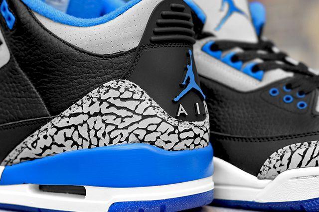 Air Jordan 3 2014 Sport Blue Retro 2