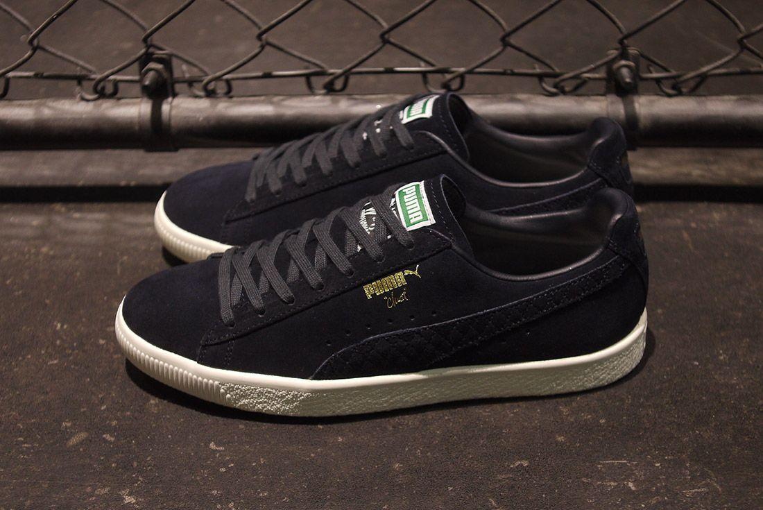 Cluct X Mita Sneakers X Puma Clyde Indigo 9