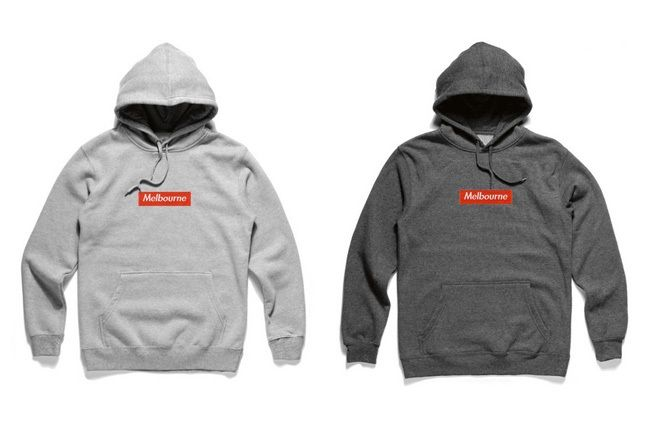 Bbot Defence Melbourne Box Logo Sweats 1