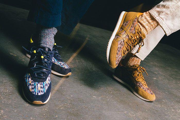Ymc Asics Tarther Og Midnight Caramel On Foot 2