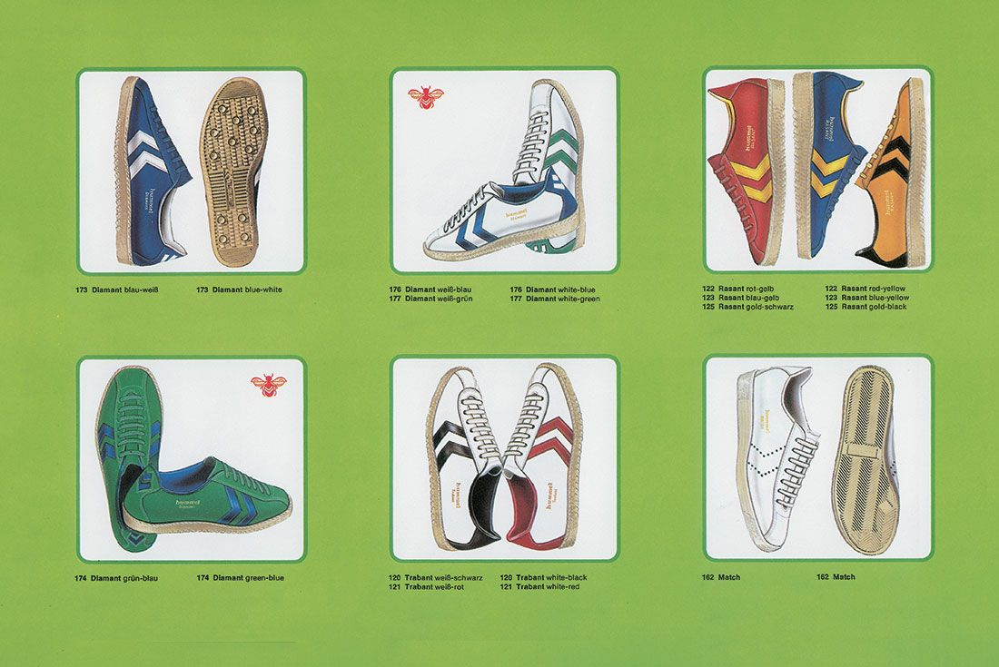 hummel footwear catalog