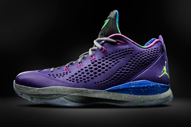 Air Jordan Cp3 Vii Purple 1