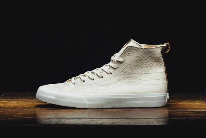 Vans Ca Sk8 Hi Decon Winter White 4