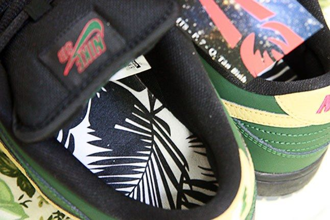 Nike Sb Dunk Low Bhm Detail Insole 1