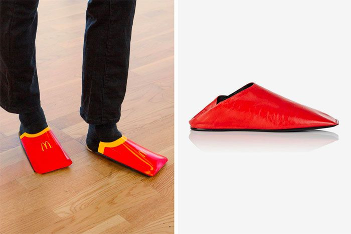 Mcdonalds Serves Up Salt Balenciaga