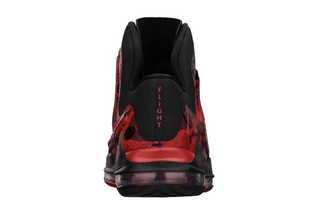 Nike Zoom Hyperflight Max Red Camo Heel