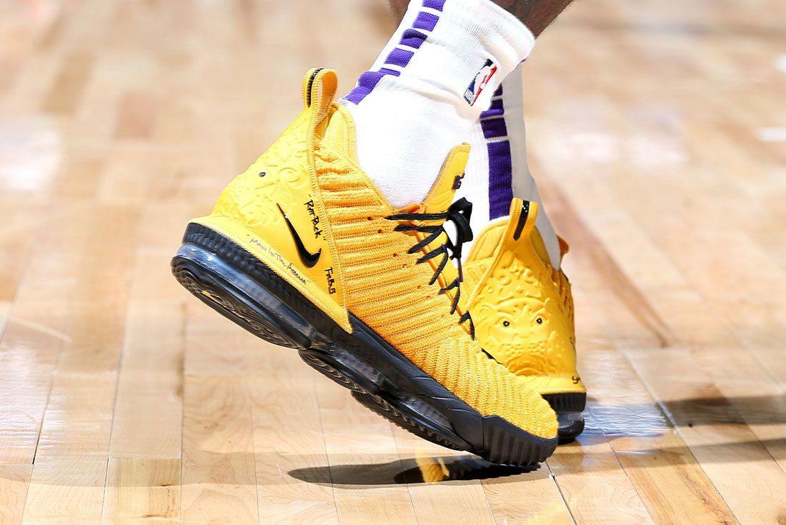 Lebron 16 Lakers Nba Sneaker Freaker