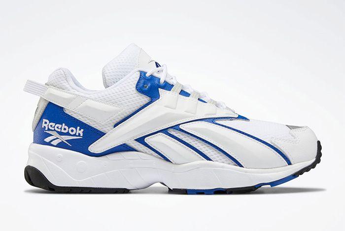 Reebok Interval 96 White Blue Right