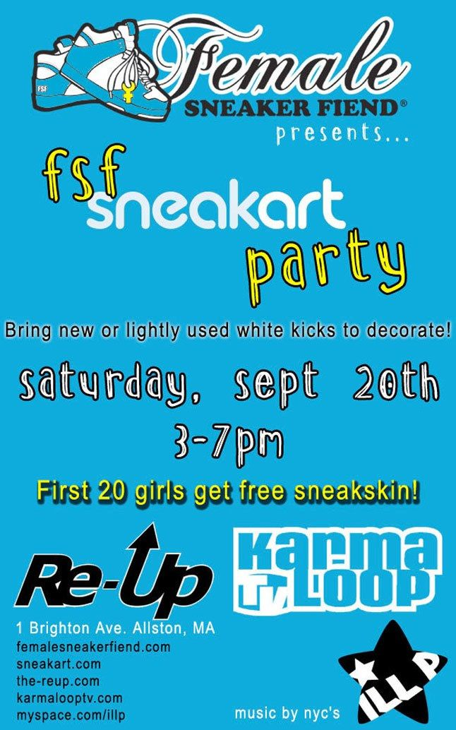 Fsf X Sneakart Party 1