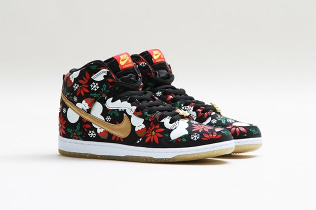 Concepts Nike Sb Dunk High Ugly Christmas Sweater 13