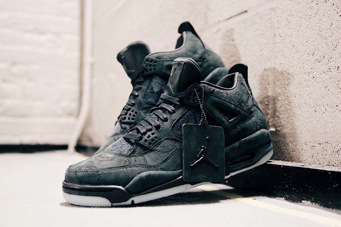Air Jordan 4 Kaws Black Detail Sneaker Freaker 1