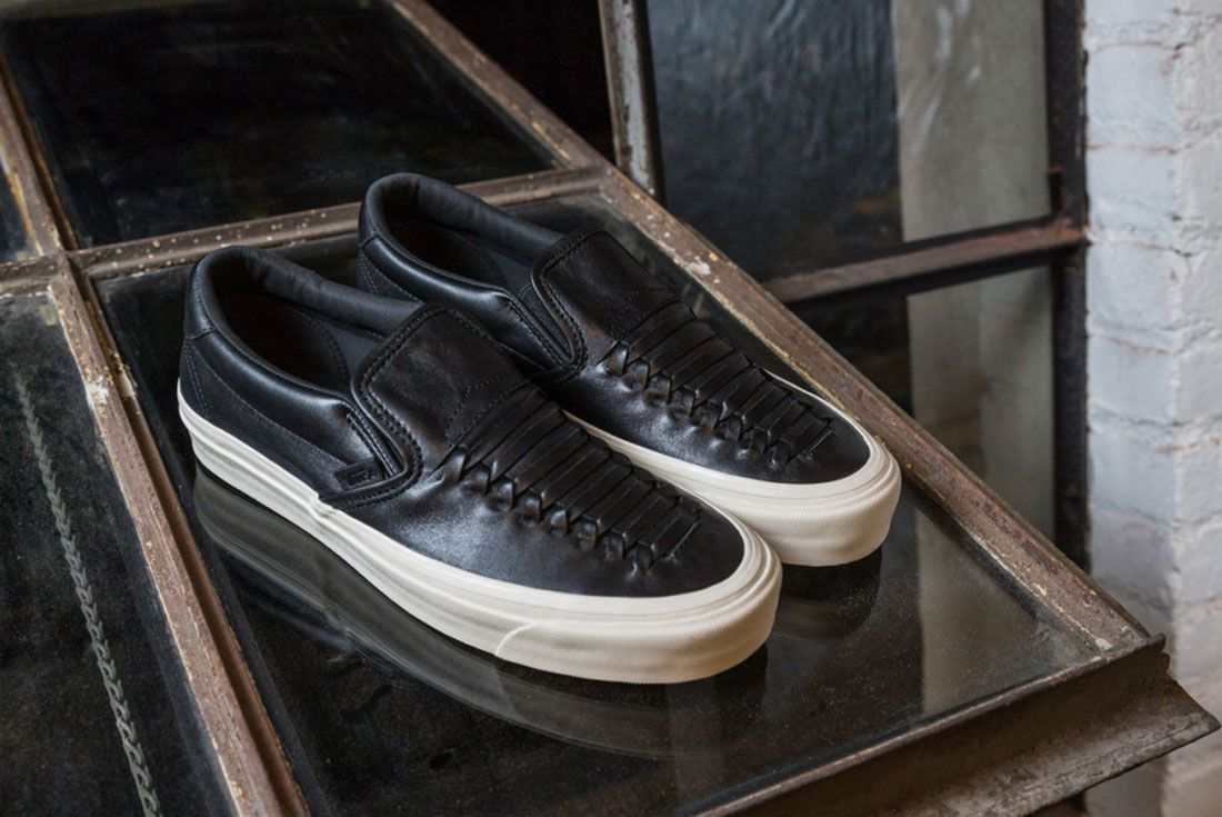 Vans Woven Leather Collection 4