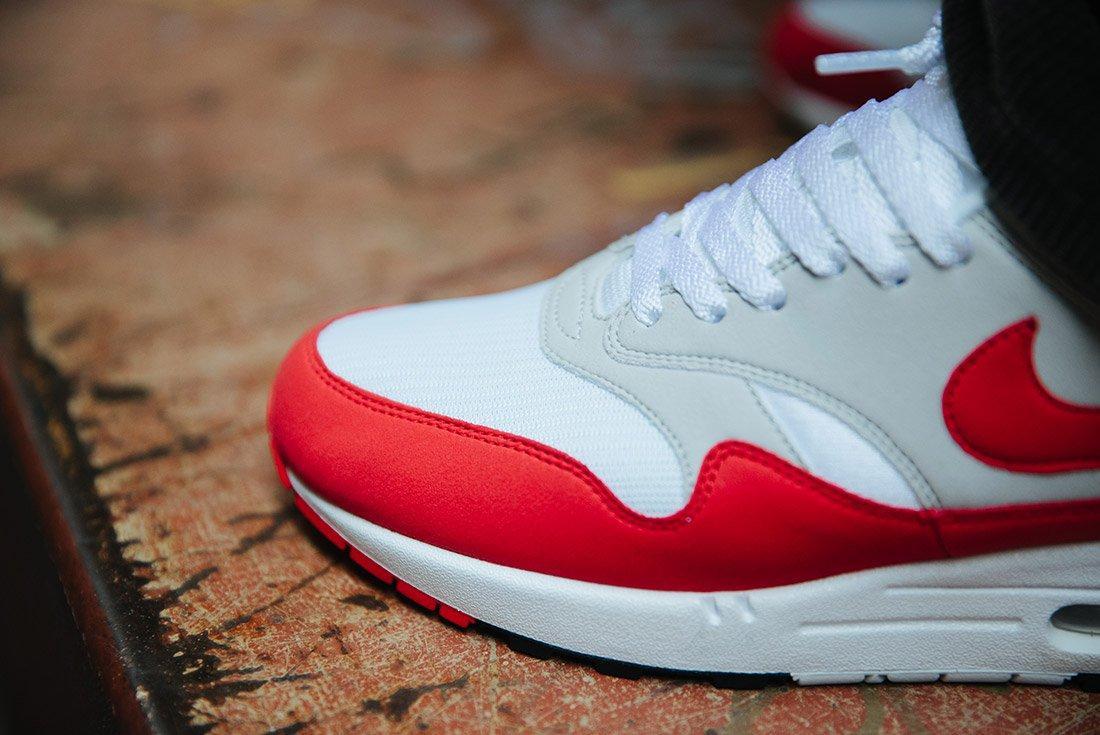 Nike Air Max 1 Anniversary Og Red White 15