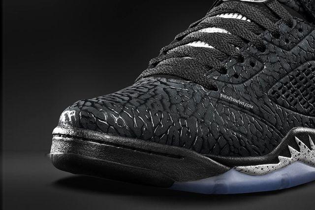 Air Jordan 3Lab5 Black Metallic 7