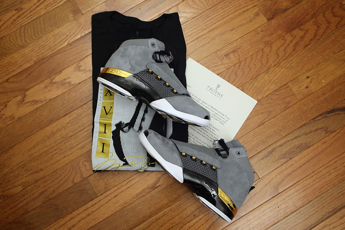 Jordan Brand Bring Back The Aj17 With Trophy Room Colab5